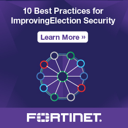 Fortinet ad banner