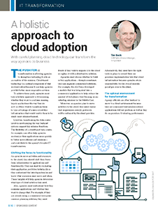 GCN Article: A Holistic Approach to Cloud Adoption