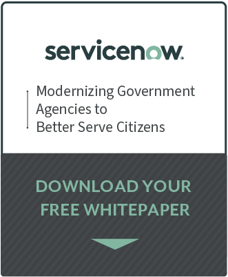 ServiceNow Modernizing Government Agencies whitepaper preview
