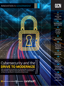 GCN Full Report: Cybersecurity and the Drive to Modernize