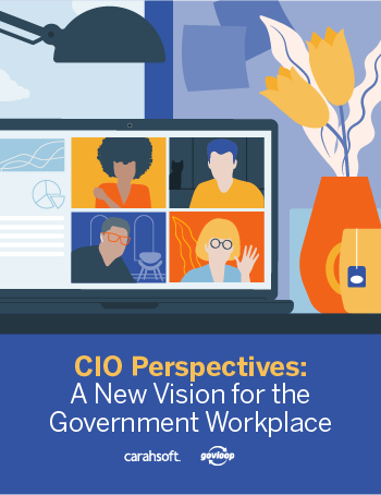 GovLoop Supply CIO Perspectives on Telework Guide cover