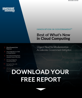 State and Local Government Cloud Computing Report preview