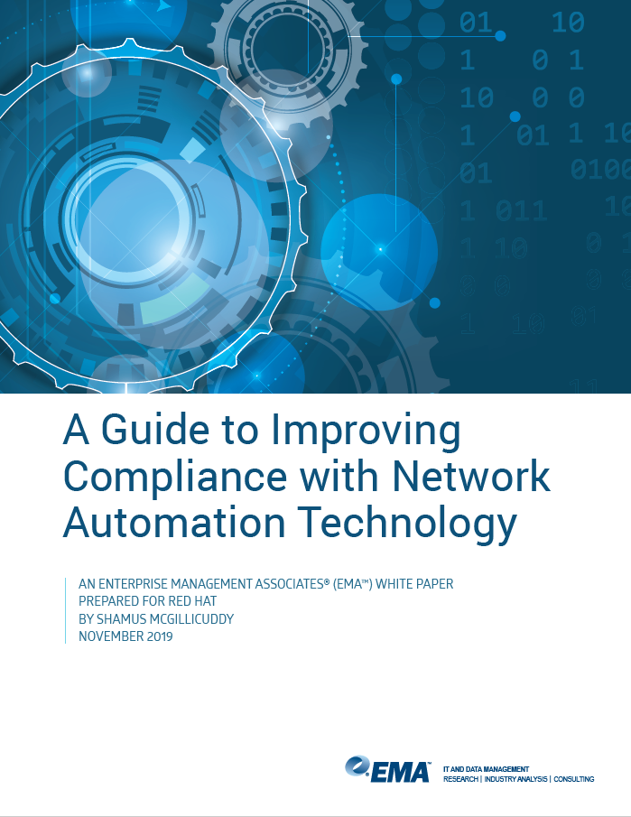 A Guide to Improving Compliance with Network Automation Technology             report preview