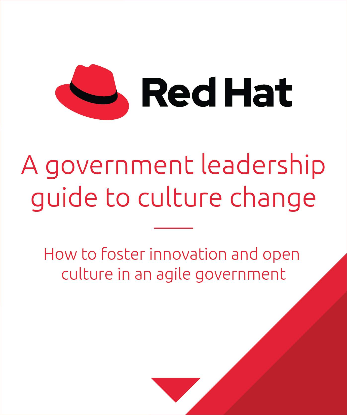 Red Hat Government Leadership E-book preview