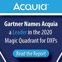 Acquia Named A Gartner Leader whitepaper