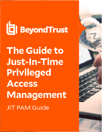 Guide to Just-In-Time Privileged Access Management cover