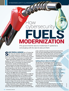 GCN Article: How Cybersecurity Fuels Modernization