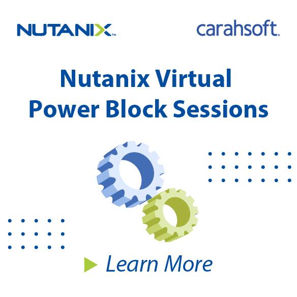 Nutanix Virtual Power Block Sessions sidebar