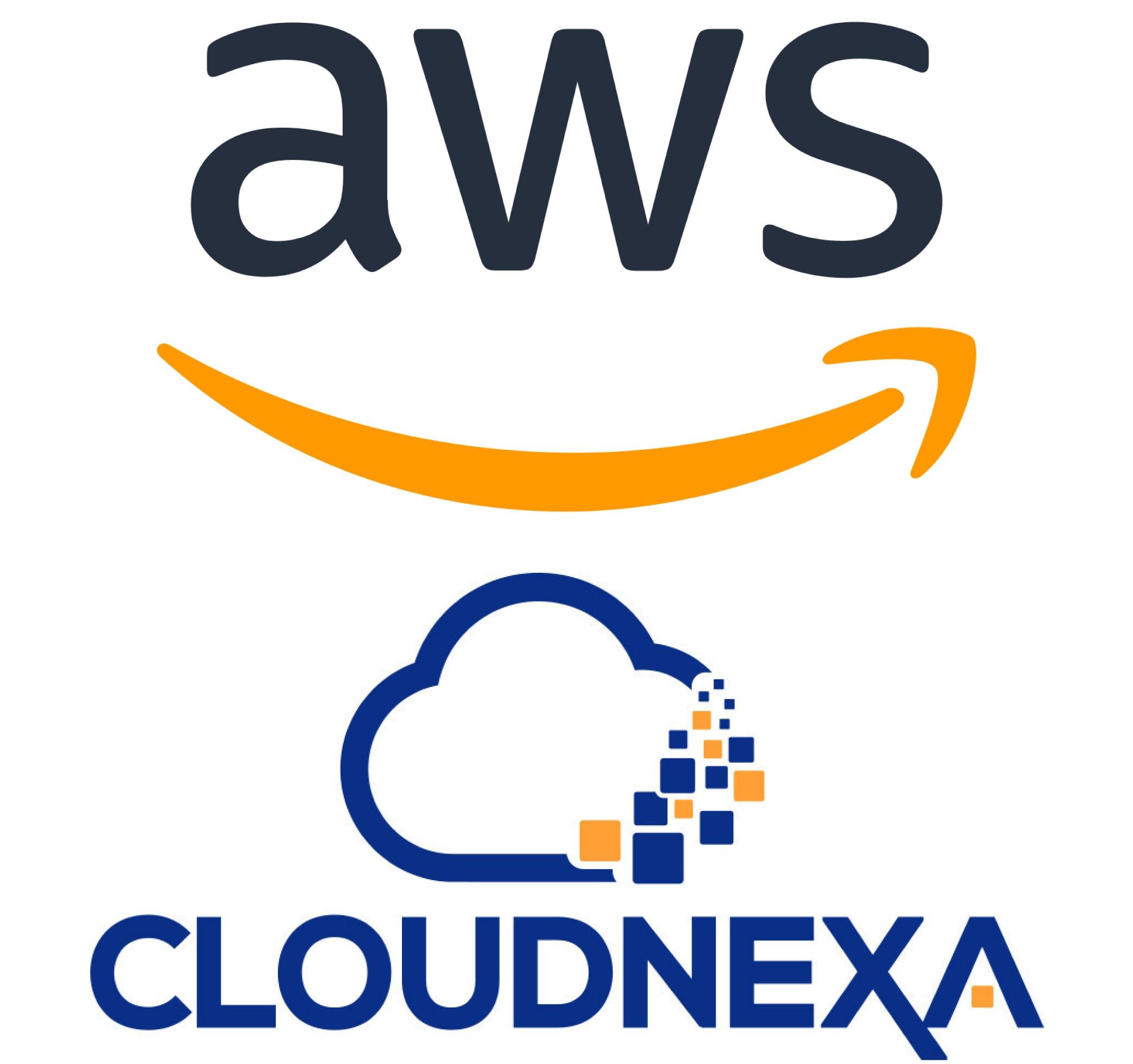 AWS & Cloudnexa Logos