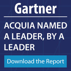 Acquia Gartner report sidebar