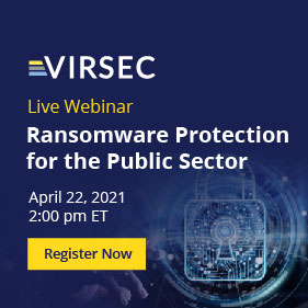 Ransomware for the Public Sector Webinar