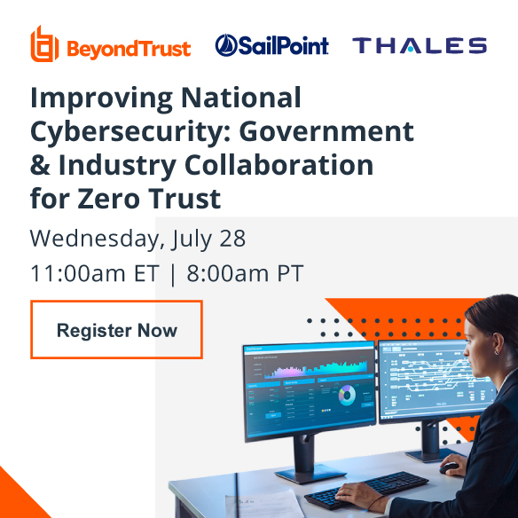 BeyondTrust Improving National Cybersecurity -Register Now