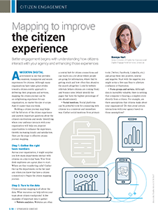 GCN Article: Mapping to Improve the Citizen Experience
