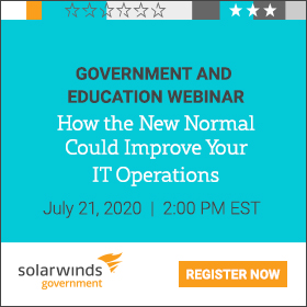 SolarWinds Government and Education Webinar