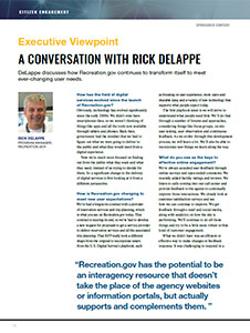 A Conversation with Rick DeLappe