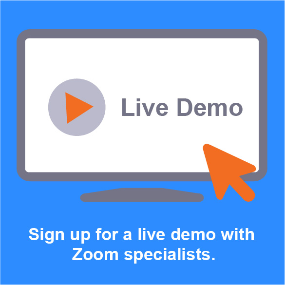 Zoom Demo Desk tab