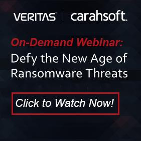 Veritas Ransomware Webinar sidebar