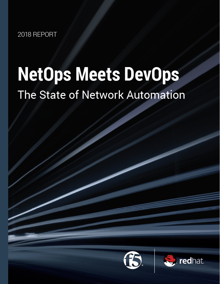 Red Hat NetOps Meets DevOps report preview