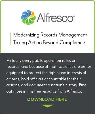 Alfresco Records Management Modernization resource