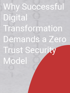 Why Digital Transformation Requires a Zero Trust Security Model