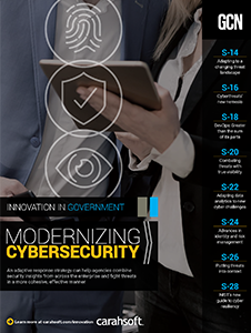 GCN Full Report: Modernizing Cybersecurity