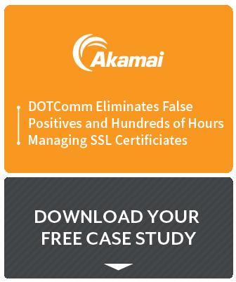 Akamai DOTCOMM Eliminates False Positives case study preview