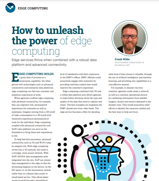 SAP edge computing resource