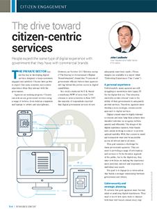 GCN Article: The Drive Toward Citizen-Centric Services