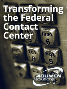 Resource: Transforming the Federal Contact Center