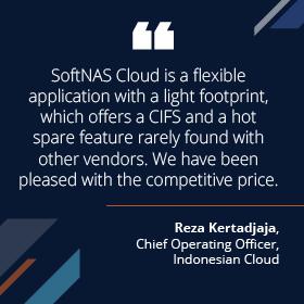 SoftNAS NAS Cloud Customer Success Quote