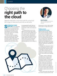 GCN Article: Choosing the Right Path to the Cloud
