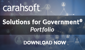 Carahsoft Solutions for Government Portfolio