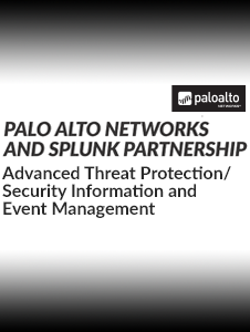 Resource: Palo Alto and Splunk Partnership - Advanced Threat Protection Solution Brief