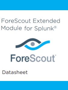 Resource: ForeScout Extended Modules for Splunk Datasheet