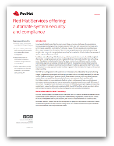Automate System Security and Compliance report preview