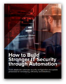 Build Stronger IT Security Through Automation report preview