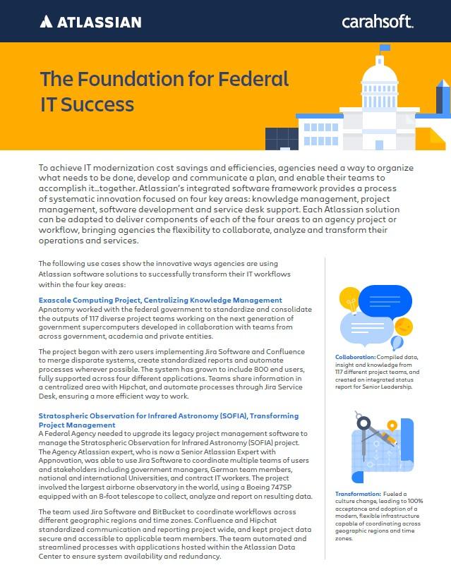Atlassian Federal IT case study