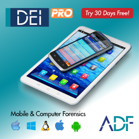 ADF offers 30-day free trial for Mobile Device Investigator