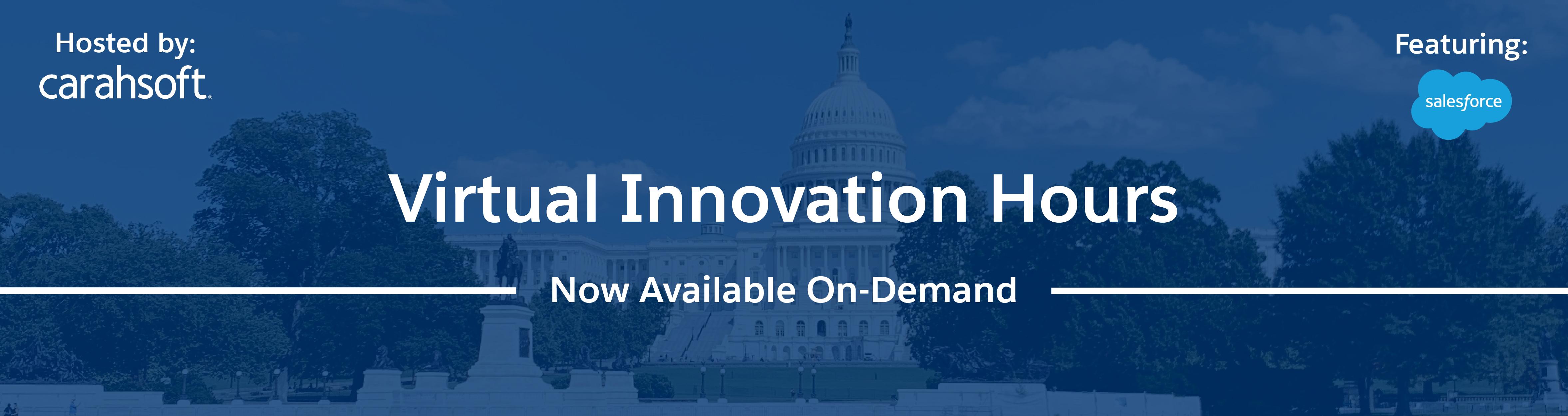 Salesforce Innovation Hours banner