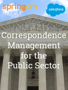 Resource: Correspondence Management for the Public Sector