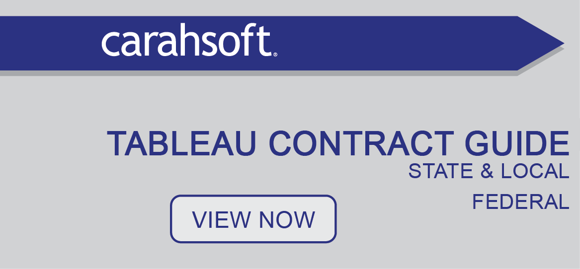 Tableau government contract guide