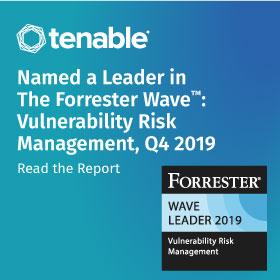 Tenable Wave Report sidebar