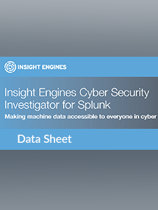 Resource: Insight Engines CSI for Splunk Data Sheet