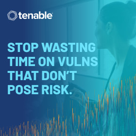 Tenable Stop Wasting time on Vulns sidebar