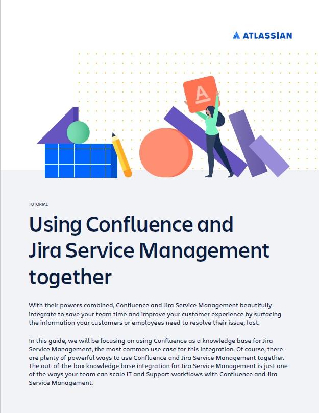 Atlassian Confluence and Jira Service guide