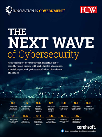 FCW IIG Cybersecurity Report cover