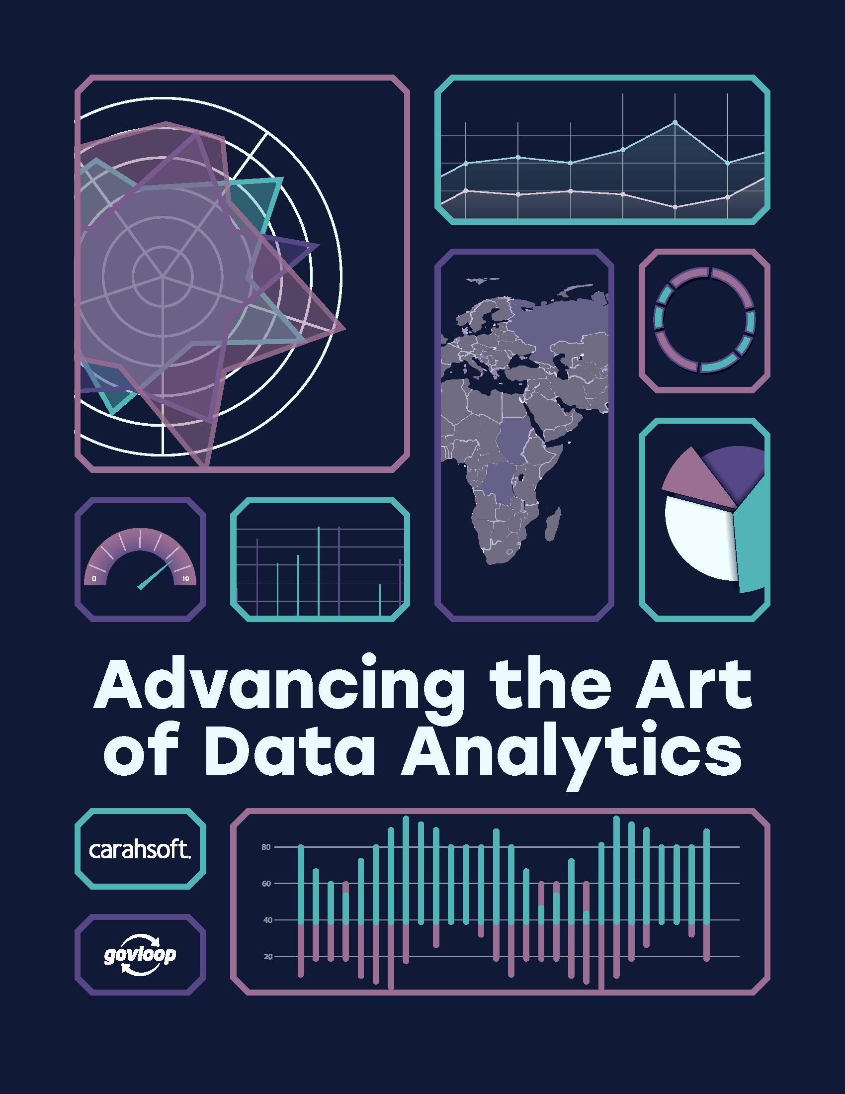 GovLoop Data Analytics Guide cover