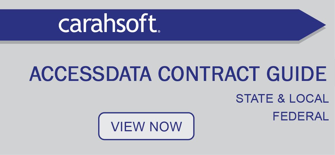 AccessData Contract Guide sidebar