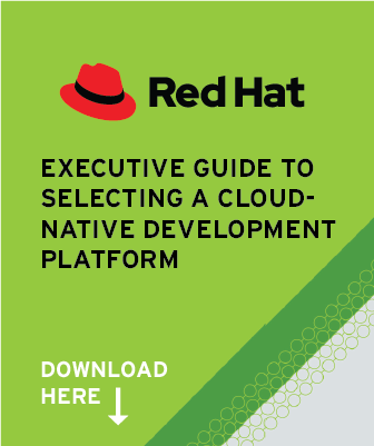 Red Hat Executive Guide to Selecting a Cloud-Native Development Platform
