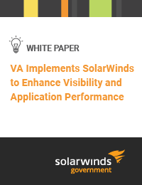 SolarWinds VA Implementation Case Study Cover